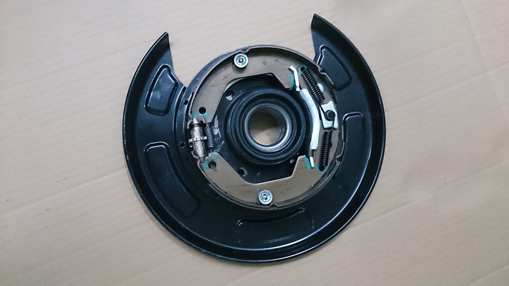 Tacoma - rear drum to disc conversion kit