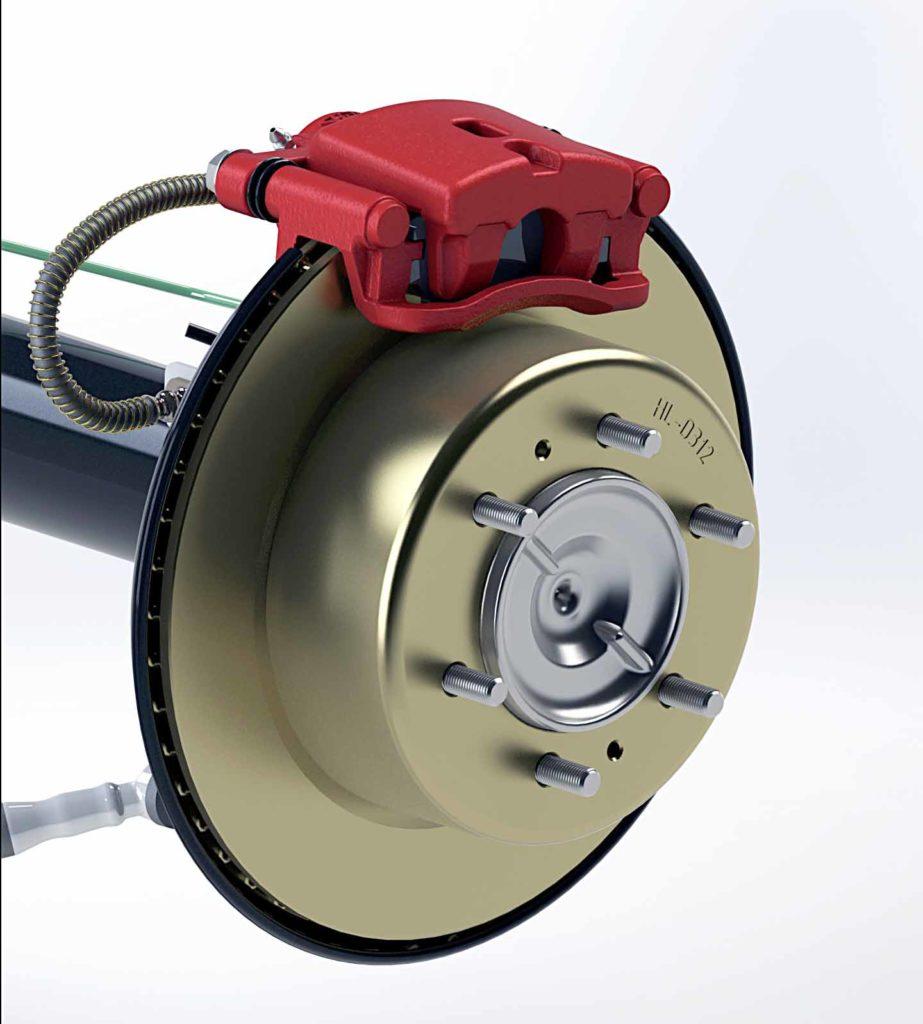 Toyota Hilxu Drum in Disc Brake Kit