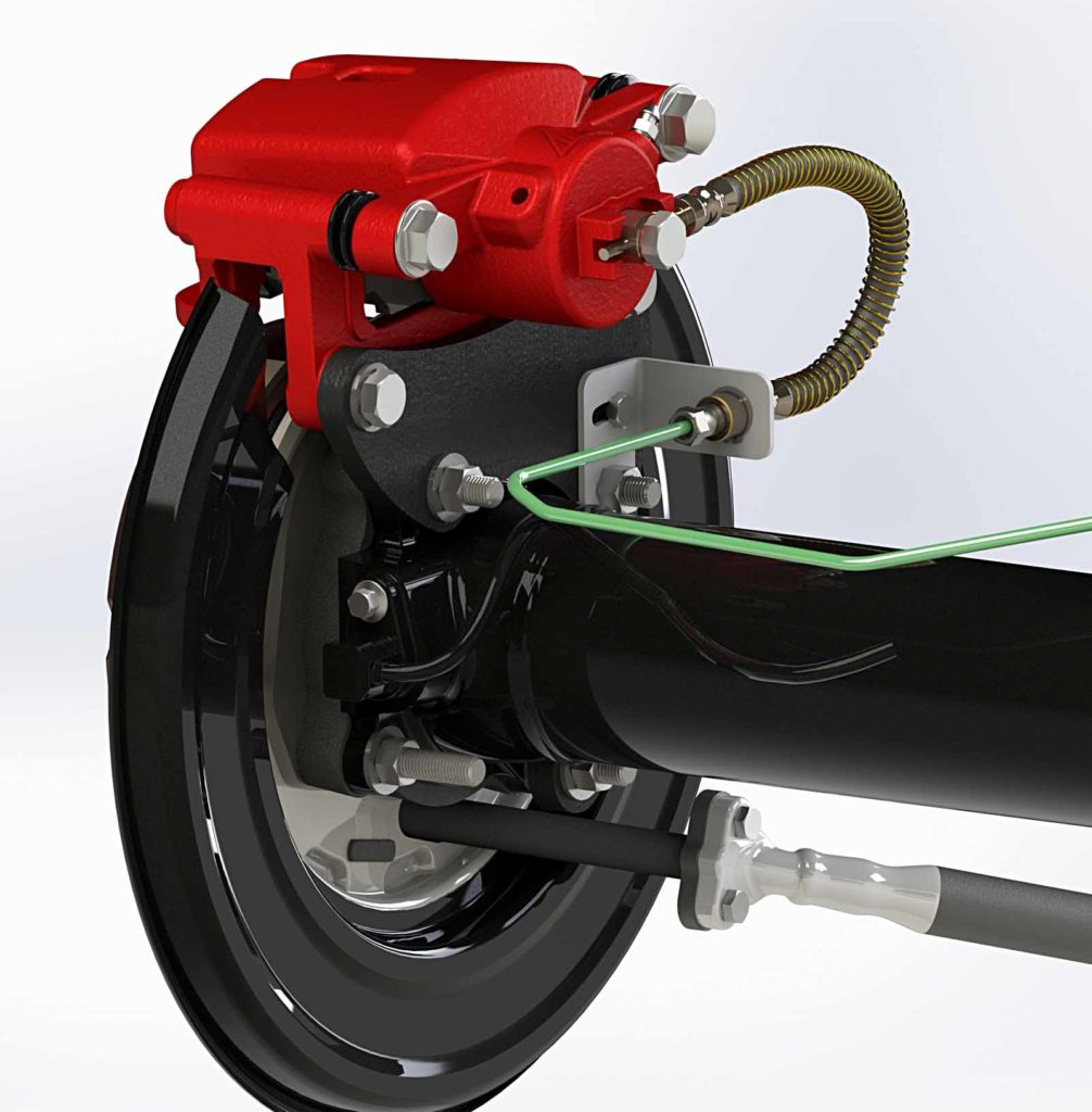Toyota Hilxu Drum to Disc Conversion Kit