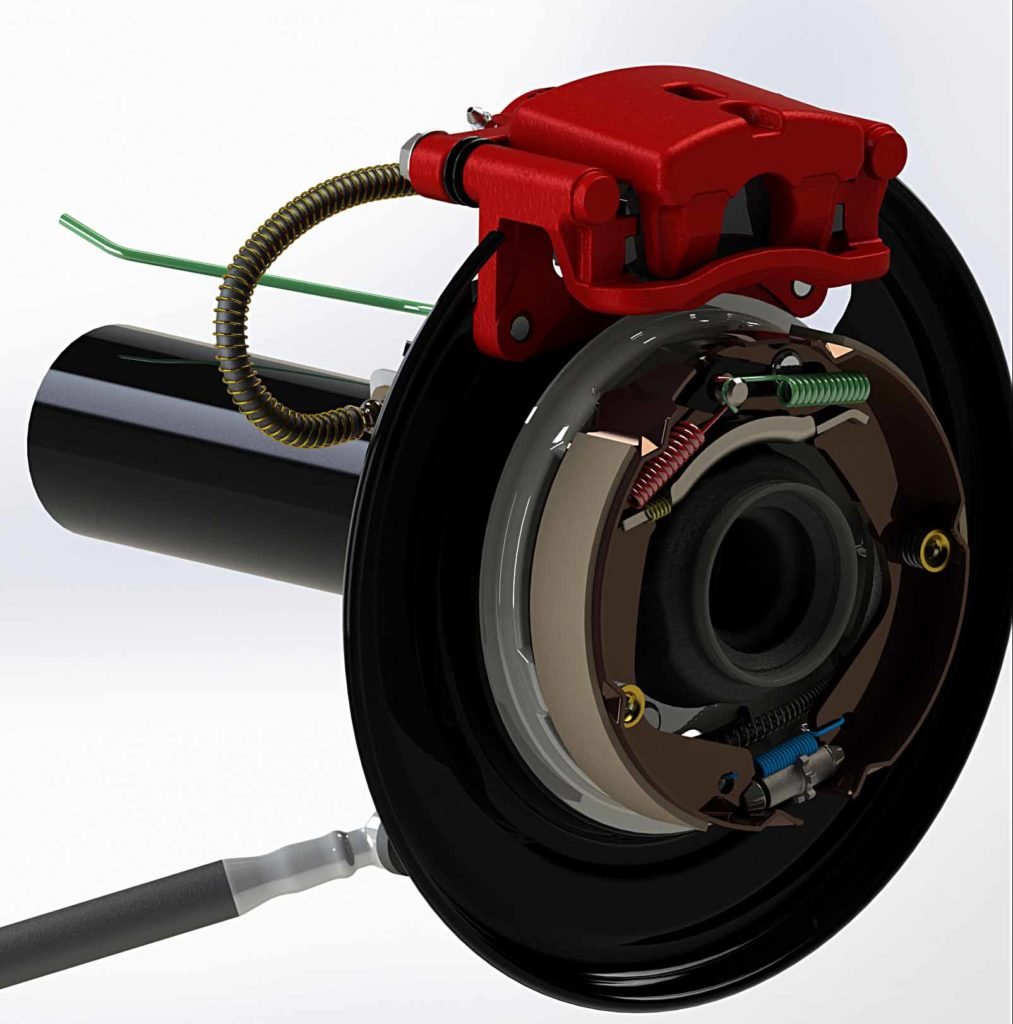 Toyota Hilxu Drum to Disc Conversion Kit