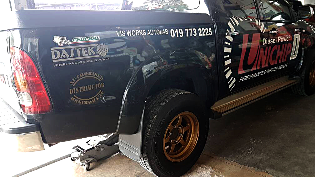 After Off Road - Toyota Hilux