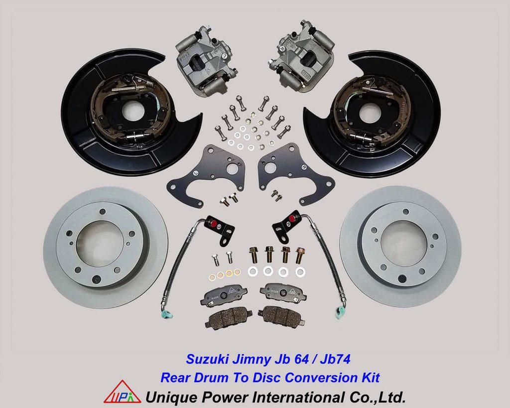 Suzuki Jimny JB64 JB74 rear drum to disc conversion kit